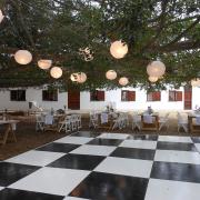 dance floor, lighting, venue - De Hoop