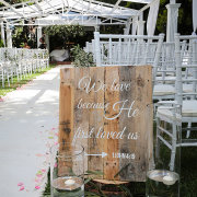 outdoor ceremony - Artica Designs