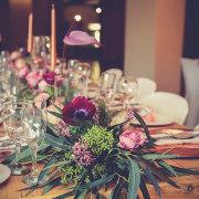 floral centrepieces - Artica Designs