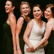 bride and bridesmaids - Tris Alves Makeup