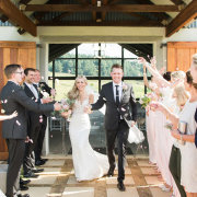 bride and groom, confetti, bride and groom, topmidlands - Fordoun Hotel & Spa