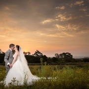 bride, groom, kiss, photography - The Hertford Country House & Function Venue