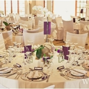 decor, table setting, wedding venue - The Hertford Country House & Function Venue