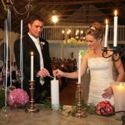 bride, groom, unity ceremony - The Hertford Country House & Function Venue