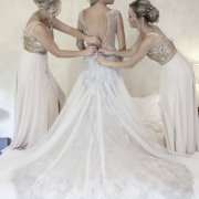 bride and bridesmaids - ML Photography Inc