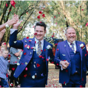 confetti, grooms - 360 Link Events