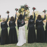 bride and bridesmaids - 360 Link