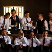 groom and groomsmen - 360 Link