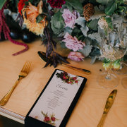 floral centrepieces, wedding stationery - The Venue @ Pearl Mountain
