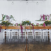 floral centrepieces - The Venue @ Pearl Mountain