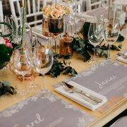 geometric, table decor, table decor, table decor, wedding stationery - The Venue @ Pearl Mountain