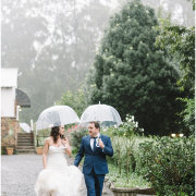 bride and groom, umbrella