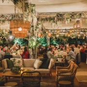 hanging florals, wedding furniture - Petals Group