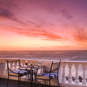 cocktail, sea, seating, sunset, kitchen tea venues in cape town - The Twelve Apostles Hotel and Spa