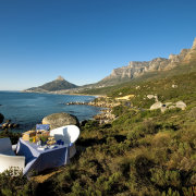 mountain, sea, seating - The Twelve Apostles Hotel and Spa