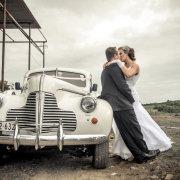 car, groom, suit, transport, wedding dress