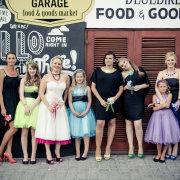 bridal party, shoes