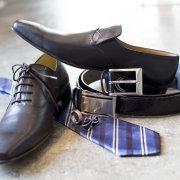shoes, tie - ZED MENSWEAR