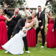bride and groom, bride and groom, wedding party - Nicole Moore Photography