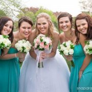 bouquet, bridesmaid dress, flowers