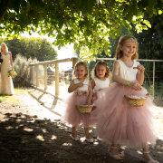 flower girls dresses - Quentin at Oakhurst