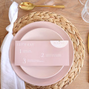 table settings, wedding stationery - The Hire Haus