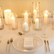 candles, table setting, table setting - The Hire Haus