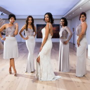 bride and bridesmaids - Warren-Stone Weddings