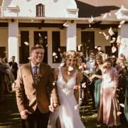 bride and groom, bride and groom, bride and groom, confetti - Warren-Stone Weddings
