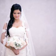 bride, veil - Warren-Stone Weddings