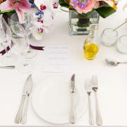 menu, minimalistic - Sorrento Events