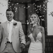 bride and groom, bride and groom, confetti, wedding dresses, wedding dresses, wedding dresses - Sorrento Events