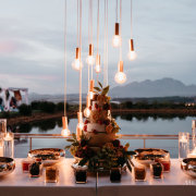 naked bulbs, wedding cakes - Sorrento Events