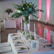 flowers, table, table numbers - Sorrento Events