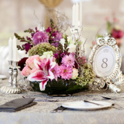 flowers, table numbers - Sorrento Events