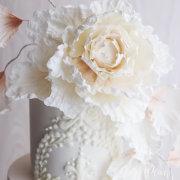 wedding cakes - Dirty Peach