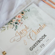 guestbook, wedding stationery - Shindig Events Decor & Design
