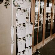 seating chart, wedding stationery - Shindig Events Decor & Design
