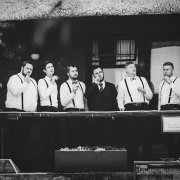 groom and groomsmen - Leopard Lodge
