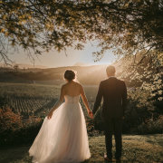 bride and groom, bride and groom, winelands - Creation Events