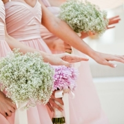 bouquet, bridesmaid dress, nails - Creation Events