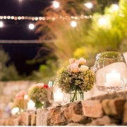 candles, flowers - Creation Events