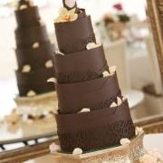 4 tier cake, chocolate, cake - Creation Events