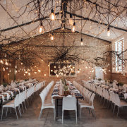 fairy lights, hanging decor, naked bulbs, wedding decor - Creation Events