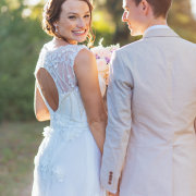 bride and groom, wedding dress - Creation Events