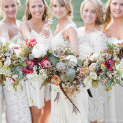 bouquets, bride and bridemaids, flower bouquet - Creation Events