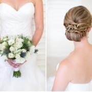 bouquet, bridal hair, hair styles