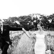 black and white, bride and groom, winelands - Creation Events