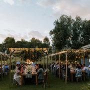 outdoor reception - Boschendal