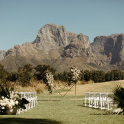arches, outdoor ceremony - Boschendal